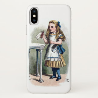 Alice in Wonderland Drink Me Vintage Original iPhone X Case