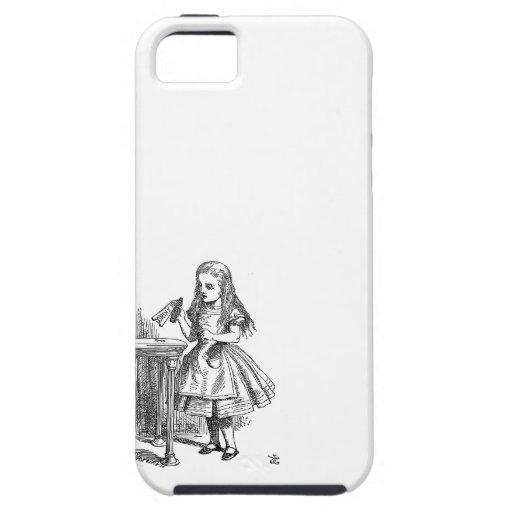 Alice in Wonderland Drink Me vintage sketch iPhone 5 Case