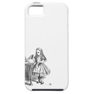 Alice in Wonderland Drink Me vintage sketch iPhone 5 Covers