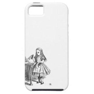 Alice in Wonderland Drink Me vintage sketch iPhone 5 Covers