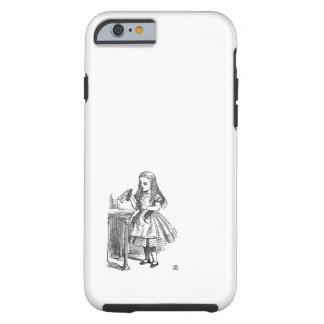 Alice in Wonderland Drink Me vintage sketch iPhone 6 Case
