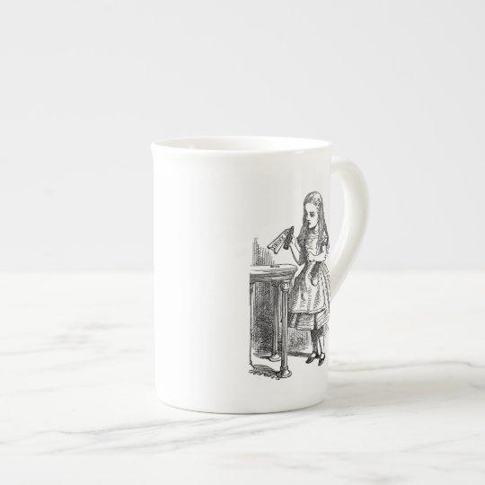 Alice in Wonderland Drink Me vintage sketch Tea