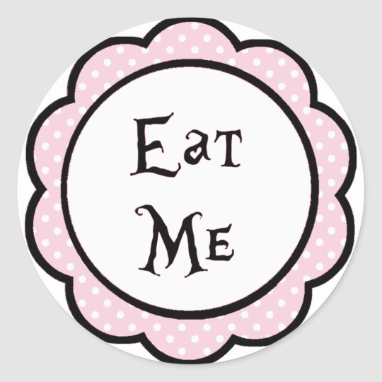 Alice In Wonderland Eat Me Party Favours Classic
