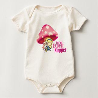 Alice in Wonderland Expert Napper Baby Bodysuit