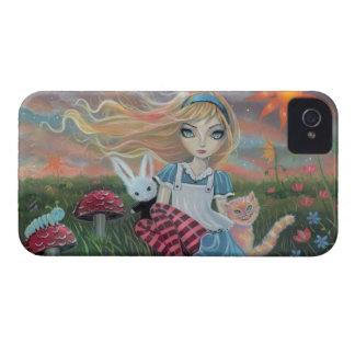 Alice in Wonderland Fairytale Fantasy Art Case-Mate iPhone 4 Cases