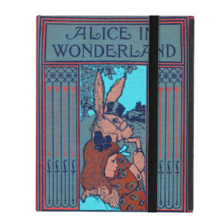 Alice In Wonderland Featuring 'The Rabbit' iPad Covers