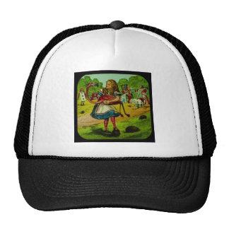Alice in Wonderland Flamingo Croquet Cap