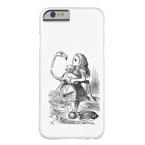 Alice in Wonderland flamingo croquet vintage iPhone 6 Case