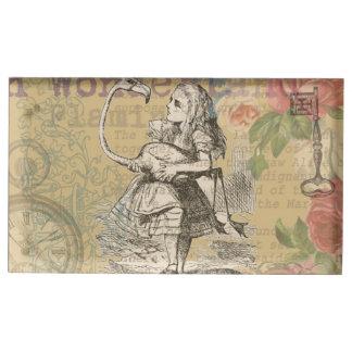 Alice in Wonderland Flamingo Table Card Holders