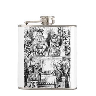 Alice in Wonderland Flask