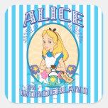 Alice in Wonderland - Frame Stickers