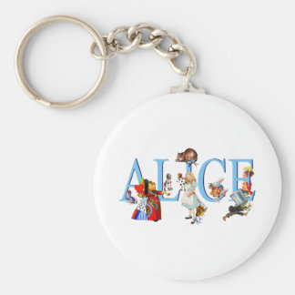ALICE IN WONDERLAND & FRIENDS KEY RING