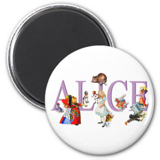 ALICE IN WONDERLAND & FRIENDS MAGNET