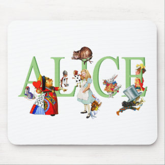 ALICE IN WONDERLAND & FRIENDS MOUSE PAD
