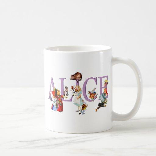 ALICE IN WONDERLAND & FRIENDS MUGS