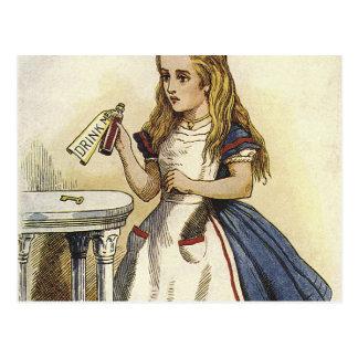 Alice in Wonderland fun Postcard