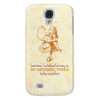Alice in Wonderland Galaxy S4 Case