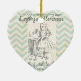 Alice in Wonderland Gifts Christmas Ornament