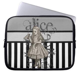 Alice In Wonderland Grunge Computer Sleeves