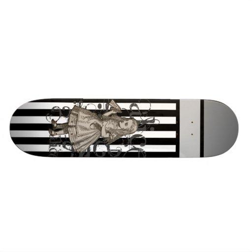 Alice In Wonderland Grunge Custom Skate Board