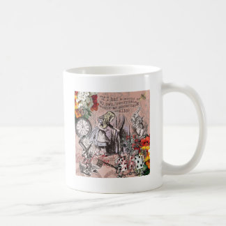 Alice in Wonderland Hatter and Rabbit Coffee Mug