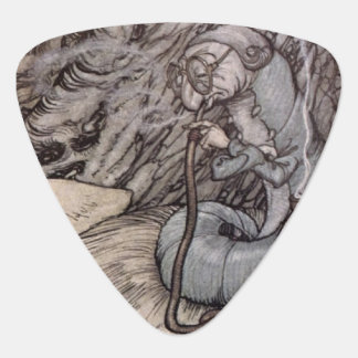 Alice in Wonderland Hookah Smoking Caterpillar Guitar Pick