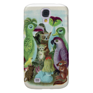 Alice in Wonderland Illustration by Morriss Galaxy S4 Case