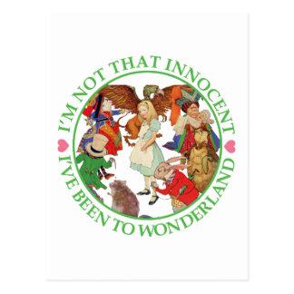 Alice in Wonderland - I'm Not That Innocent Post Card