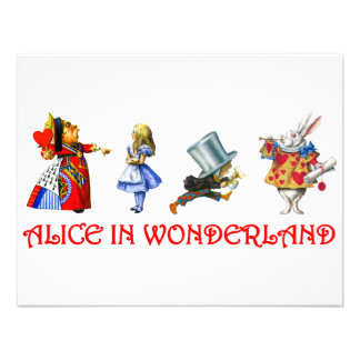 ALICE IN WONDERLAND ANNOUNCEMENTS