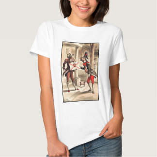 Alice in Wonderland - Invitation from the Queen Shirts