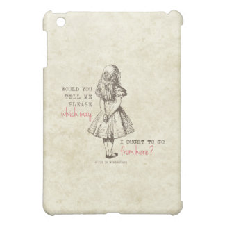 Alice in Wonderland iPad Mini Case