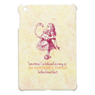 Alice in Wonderland iPad Mini Covers