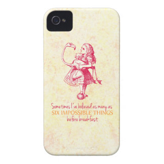 Alice in Wonderland iPhone 4 Case-Mate Cases