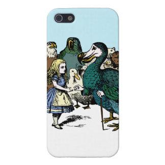 Alice in Wonderland iphone 5 case Dodo Animals