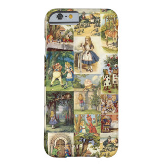 Alice in Wonderland iPhone 6 case collage