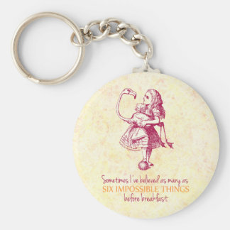 Alice in Wonderland Key Ring