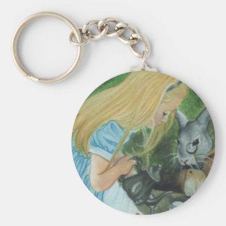 Alice in Wonderland Keychain