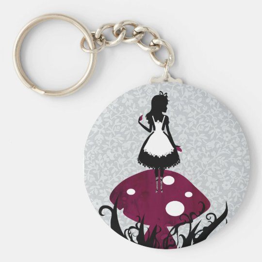 Alice in Wonderland Keychan Key Ring