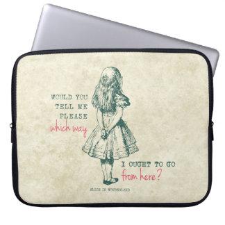 Alice in Wonderland Laptop Computer Sleeves
