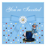 Alice in Wonderland Mad Hatter Tea Party Invites