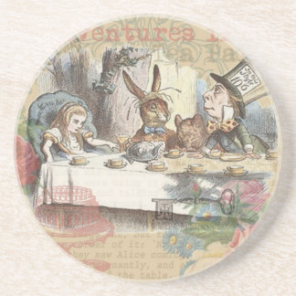Alice in Wonderland Mad Tea Party Beverage Coasters