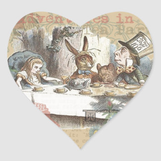 Alice in Wonderland Mad Tea Party Stickers