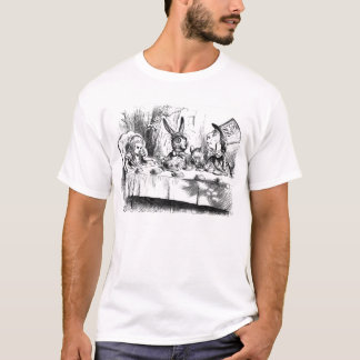 Alice in Wonderland Mad Tea Party T Shirt