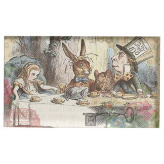 Alice in Wonderland Mad Tea Party Table Card Holder