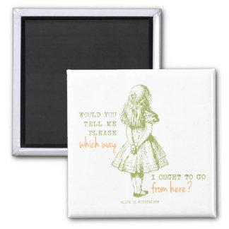 Alice in Wonderland Magnet