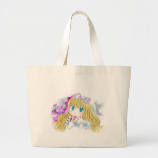 Alice In Wonderland Manga Anime Version Kawaii Bag