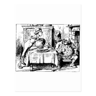 Alice in Wonderland Men Postcards