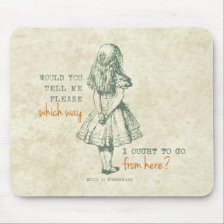 Alice in Wonderland Mouse Mat