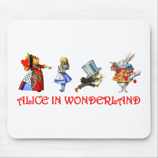 ALICE IN WONDERLAND MOUSE PADS