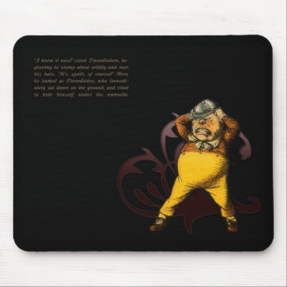 Alice in Wonderland Mouse Pad